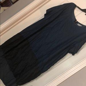 Ava & Viv plus size color block dress 4x